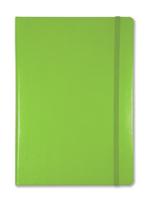 Lime Green, available in ruled, squared, dotted & plain
