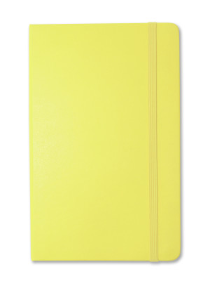 Citron Yellow, available in ruled