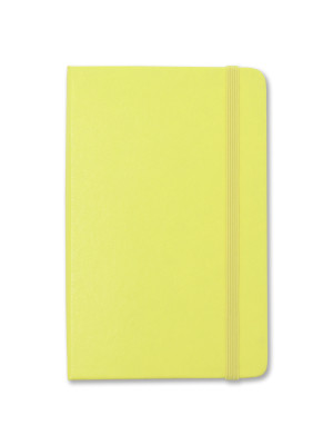 Citron Yellow Pocket, available in ruled